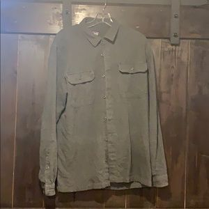 Men's Patagonia Long Sleeve Button Down Medium